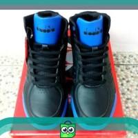Sepatu Pria Sneakers Limited ! Sepatu Basket Pria Diadora Drill Black