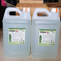 REFILL Aseptic Plus OneMed 5 Liter / Hand Sanitizer Cair OneMed