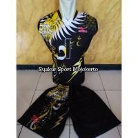 Baju Voli Printing Tanpa Lengan
