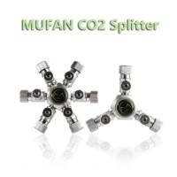 MUFAN 2 3 4 Co2 Splitter co2 spliter cabang co2 pembagi co2 aquascape