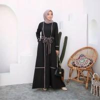 Gamis Syari Big Size Donik Dubai Abaya Size M L XL XXL XXL 4XL 5XL
