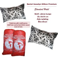 Paket 2 Bantal Tidur Jesselyn Premium Silicon / Silikon