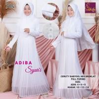 adiba kids baju muslim anak putih baju anak remaja pesta
