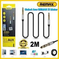 Remax Kabel Aux Audio HP 2 Meter Handphone Speaker RL-L200 2M 3.5mm
