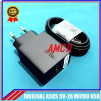 Charger Asus Zenfone Max Pro M1 M2 ORIGINAL 100% 5V-2A Micro USB - Putih