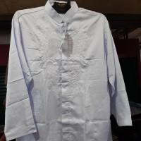 baju koko anak anak sunatan / kelas 4 SD putih panjang