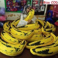 Banana Pillow Bantal Pisang Bantal Unik Bantal Buah Pisang XL Lucu