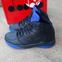 Sepatu basket diadora hitam size 39 original