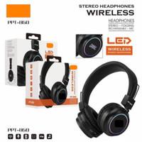 Handsfree Bando Bluetooth PPT-860 + LED - Wireless Headphone