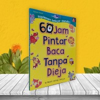 BUKU ANAK TK & PAUD 60 JAM PINTAR BACA TANPA DIEJA