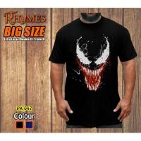 Baju Kaos Superhero Venom Dewasa Jumbo Bigsize - Rhymes