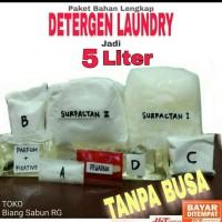 Bahan Deterjen laundry, Detergen laundry cair, Biang Detergen laundry