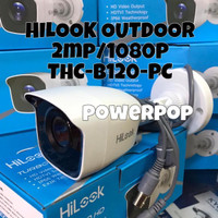 CCTV OUTDOOR HILOOK 2Mp 1080p HYBRID THC B120P