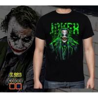 Kaos Pria Joker Green Rhymes Baju Superhero Atasan Tshirt Dewasa