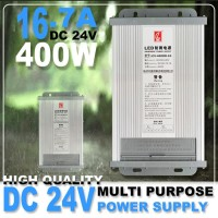 Power Supply switching Trafo outdoor DC24V 16.7A 400W BT424 Termurah