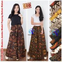 Kulot Batik Modern Jumbo Model Payung Bahan Katun