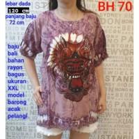Baju Barong Bali Tie Dye Jumbo XXL