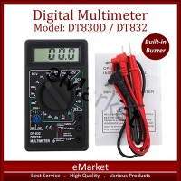 Multimeter Digital Buzzer DT830D DT832 / Avometer / Multitester / Mult