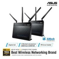 ASUS AiMesh Dual Band AC1900 Home Mesh WiFi System (RT-AC68U 2 Pack)