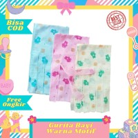 Gurita Bayi Tali Ikat warna motif baru lahir newborn murah halus