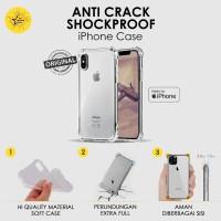 Casing iPhone Anti Crack Case XR XS 11 Pro Max 6 7 8 plus Shockproof