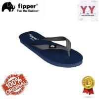 Sandal Fipper Classic Blue Snorkle Grey Pria Sandal Jepit Flipflop - 41