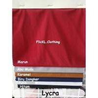 Bahan Kain Lycra Spandex Legging Baju Sepeda Renang Celana Olahraga