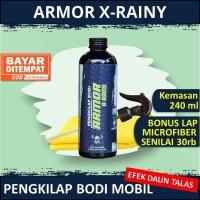 PROMO!! Armor Xrainy Mengkilap dengan efek daun talas
