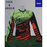 Baju Sepeda Olahraga Kaos Balap Gowes print Premium Trail Singletrek - Singletrek, M