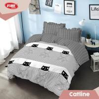 Kintakun DLuxe Bed Cover Set Uk. 180x200 Motif - Catline