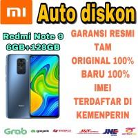 Xiaomi Redmi Note 9 6/128 RAM 6Gb ROM 128Gb New Garansi Resmi