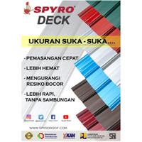 SPYRO DECK SD-770 WARNA (0.30 mm) Genteng / Atap / Spandek
