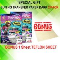 Kertas Transfer - SUN NG Transfer Paper Dark A4 (Promo)