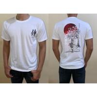 T-shirt Kaos Distro Pria Samurai Sakura