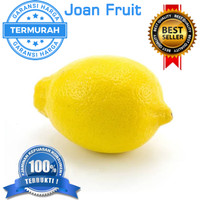 TERMURAH Buah Lemon import Jeruk PREMIUM 1/2kg SE INDONESIA