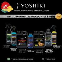 YOSHIKI Paket Komplit Pembersih Interior Body Velg Mesin Motor Mobil