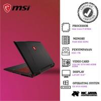 Laptop Gaming MSI GL63-8RC 17