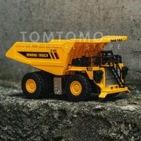 Haul Dump Truck SD Diecast Miniatur Mobil Mobilan Mainan Truk Tomtomo