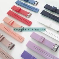 Fitbit Versa / Versa 2 / Lite - Rubber TPE Strap - Black, S