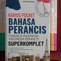 kamus pocket Bahasa Perancis.