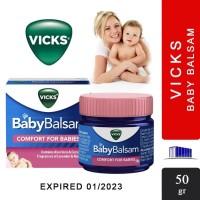 TERMURAH VICKS BABY BALSAM ORIGINAL - BALSEM ANAK 50 GR / OBAT BAYI