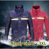 Jas Hujan Setelan Baju Celana Paradise Original 100% / Raincoat - Maroon, S