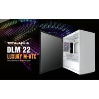 Aigo darkFlash DLM22 White Luxury - Tempered Glass M-ATX Gaming Case