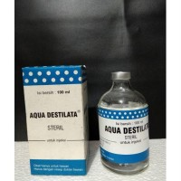 Terlaris Aquades Aqua Destilata Original