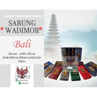 Sarung Wadimor Bali [GROSIR / ECER MURAH]
