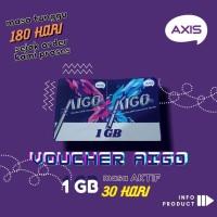 VOUCHER DATA AXIS AIGO 1 GB 30 HARI