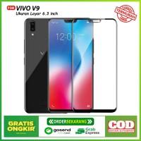 Promo Tempered Glass Vivo V9 - Premium Quality Black