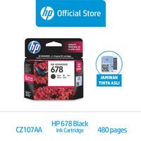 HP 678 Black Original Ink Advantage Cartridge (CZ107AA)