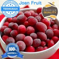 Buah Beku Cranberry Frozen IQF 1/2kg TERMURAH SE INDONESIA DIJAMIN