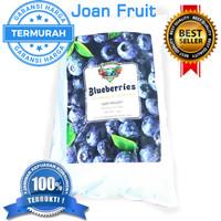 Buah Beku Blueberry Frozen IQF 1kg TERMURAH SE INDONESIA DIJAMIN MURAH